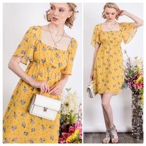 Summertime Retro Style Dress